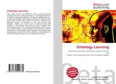 Bookcover of Ontology Learning
