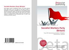 Bookcover of Socialist Workers Party (Britain)