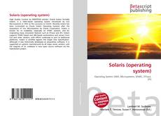 Capa do livro de Solaris (operating system)
