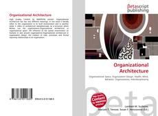 Buchcover von Organizational Architecture