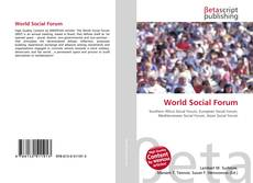 Bookcover of World Social Forum