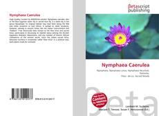 Buchcover von Nymphaea Caerulea