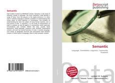 Bookcover of Semantic