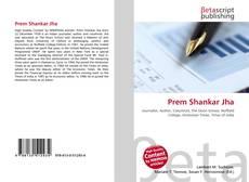 Prem Shankar Jha kitap kapağı