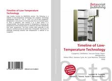 Bookcover of Timeline of Low-Temperature Technology