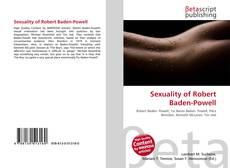 Bookcover of Sexuality of Robert Baden-Powell