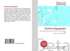 Bookcover of Particle Segregation