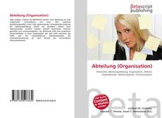Bookcover of Abteilung (Organisation)