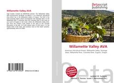 Bookcover of Willamette Valley AVA