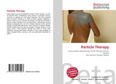Bookcover of Particle Therapy