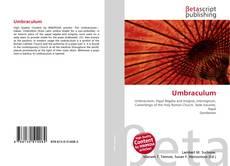 Bookcover of Umbraculum