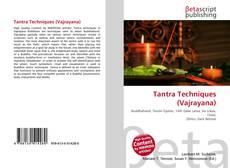 Buchcover von Tantra Techniques (Vajrayana)