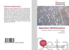 Capa do livro de Operation (Mathematics)