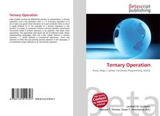 Bookcover of Ternary Operation