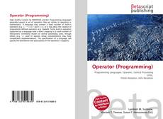 Обложка Operator (Programming)