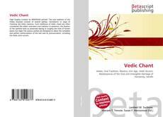 Portada del libro de Vedic Chant