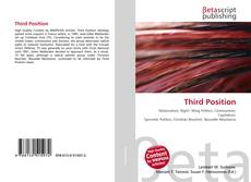 Couverture de Third Position