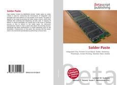 Bookcover of Solder Paste
