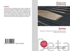 Bookcover of Quetta