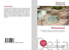 Bookcover of Phenomenon