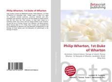 Обложка Philip Wharton, 1st Duke of Wharton