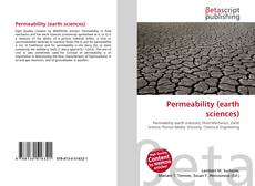 Bookcover of Permeability (earth sciences)