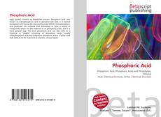Couverture de Phosphoric Acid