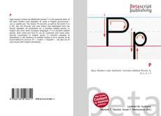 Capa do livro de P