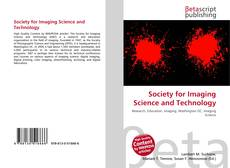 Society for Imaging Science and Technology的封面