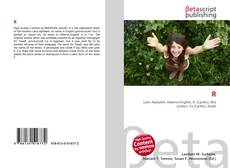 Bookcover of R