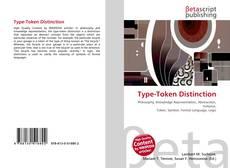 Type-Token Distinction的封面