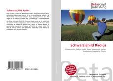 Bookcover of Schwarzschild Radius