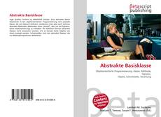Abstrakte Basisklasse kitap kapağı