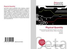 Bookcover of Physical Quantity