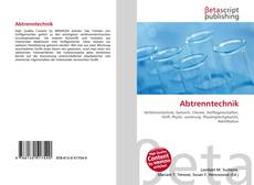 Bookcover of Abtrenntechnik