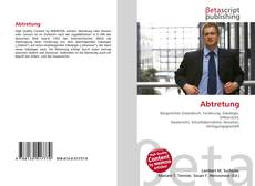 Bookcover of Abtretung