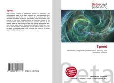 Buchcover von Speed