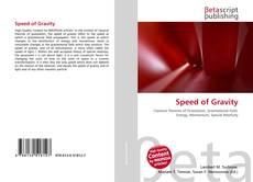 Portada del libro de Speed of Gravity