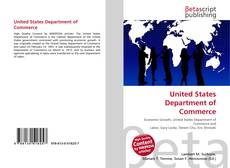 Buchcover von United States Department of Commerce