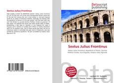 Обложка Sextus Julius Frontinus