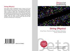 Bookcover of String (Physics)