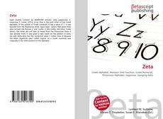 Bookcover of Zeta
