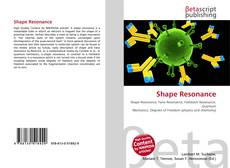 Bookcover of Shape Resonance