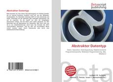Bookcover of Abstrakter Datentyp