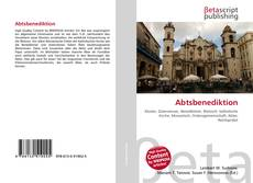 Bookcover of Abtsbenediktion