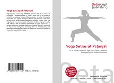 Yoga Sutras of Patanjali的封面