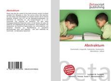 Обложка Abstraktum