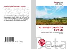 Copertina di Russian–Manchu Border Conflicts