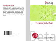 Portada del libro de Temperance (Virtue)