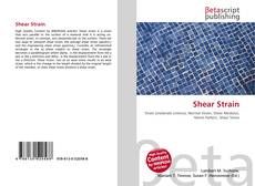 Bookcover of Shear Strain